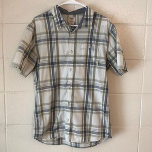 Vans short sleeve button up